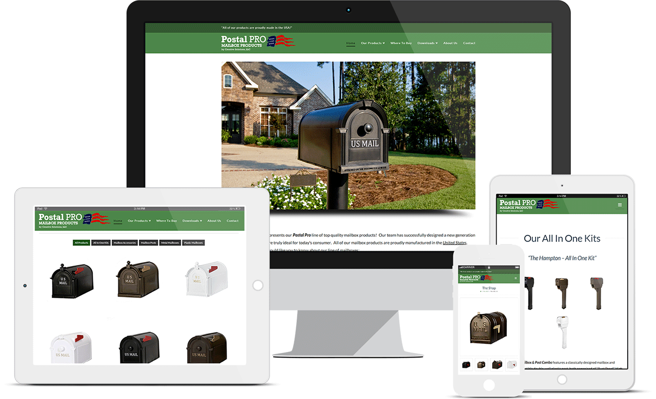 Postal Pro Mailbox Products
